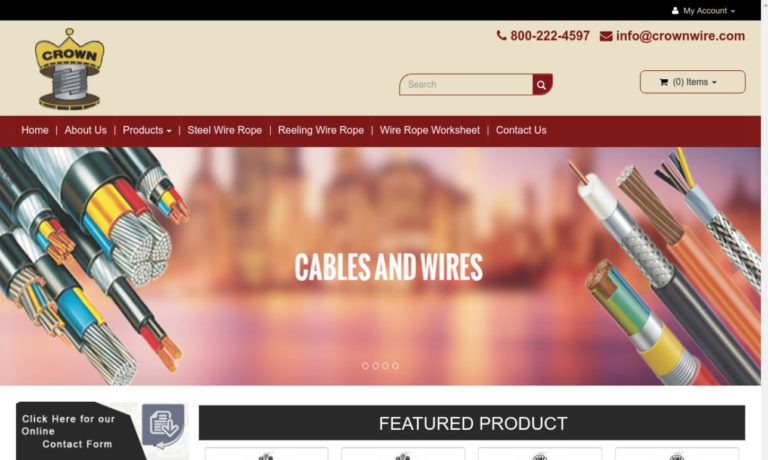 Crown Wire & Cable Co., Inc.
