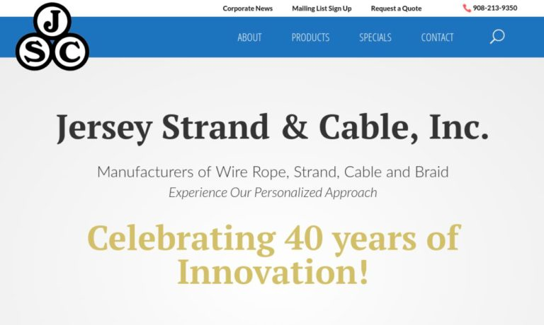 Jersey Strand & Cable, Inc.