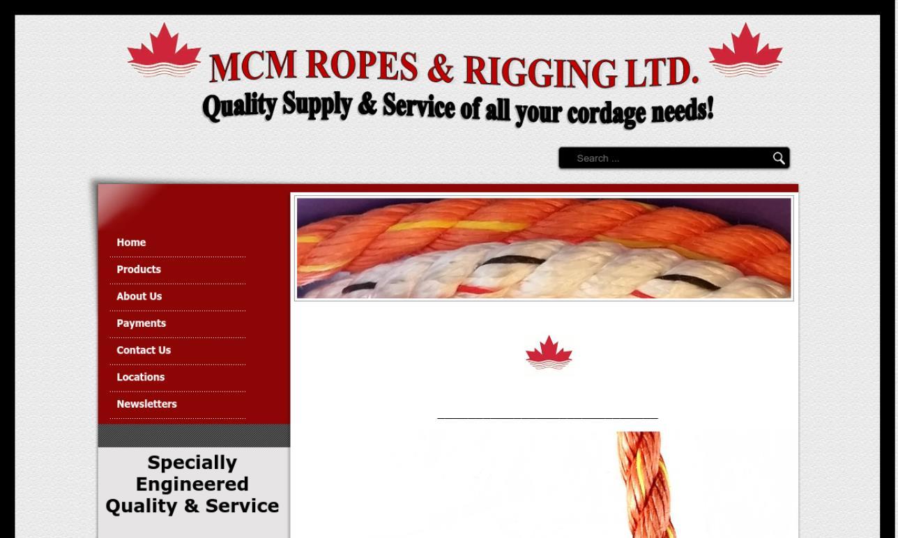 MCM Ropes & Rigging Ltd.
