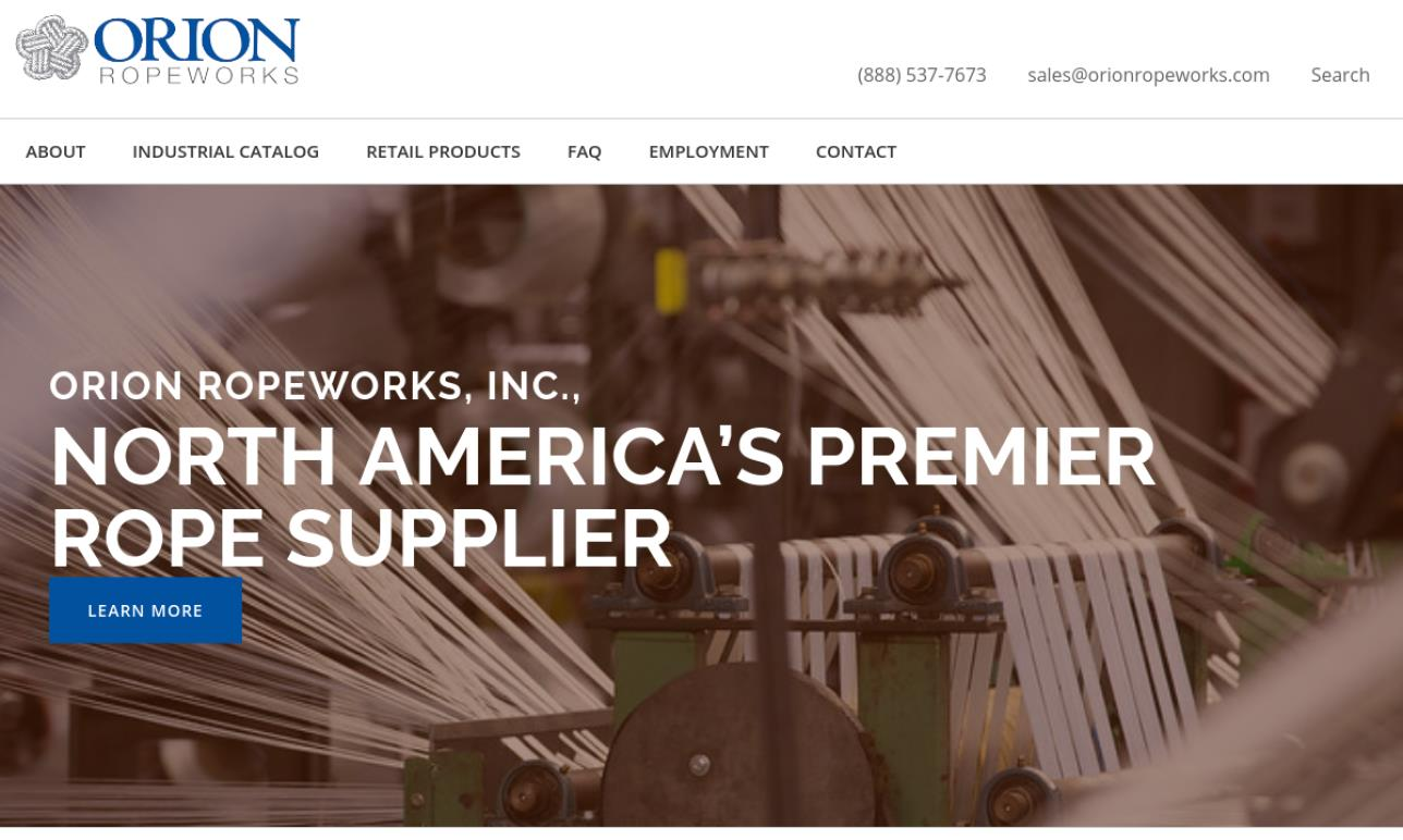 Orion Ropeworks, Inc.