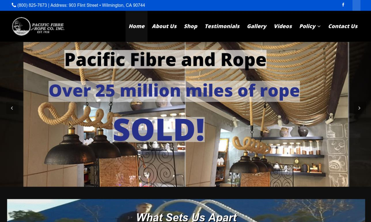 Pacific Fibre and Rope Co., Inc.